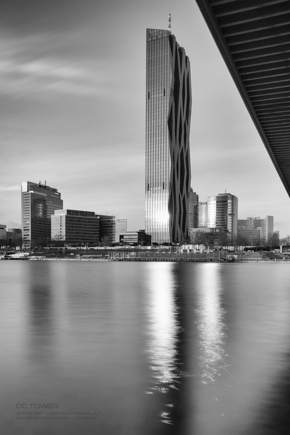 DC Tower, Architekt Dominique Perrault, Bild von Manfred Sodia - MANFREDSODIAphotography