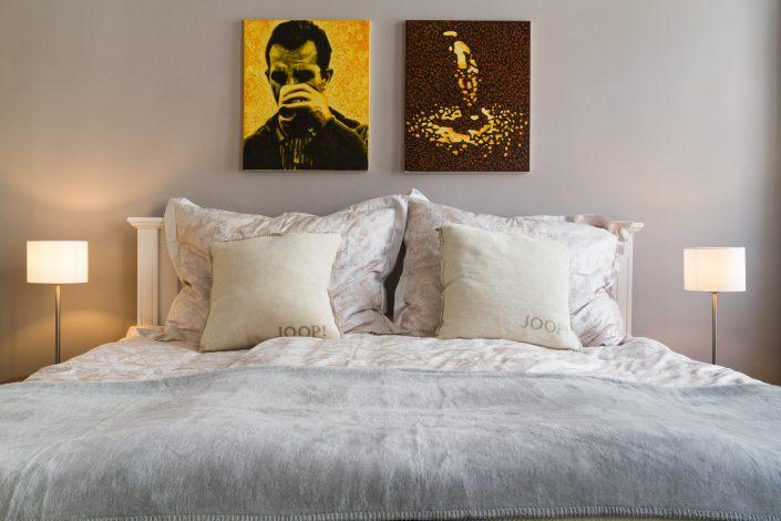 Schlafzimmer, Hotelfotografie und Interieurfotografie von MANFRED SODIA photography