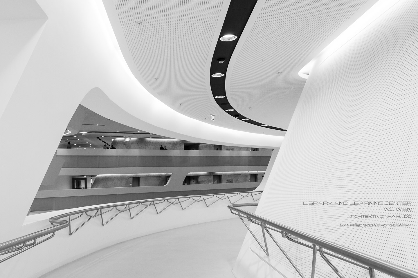Learning Center der WU Wien, Architektin Zaha Hadid
