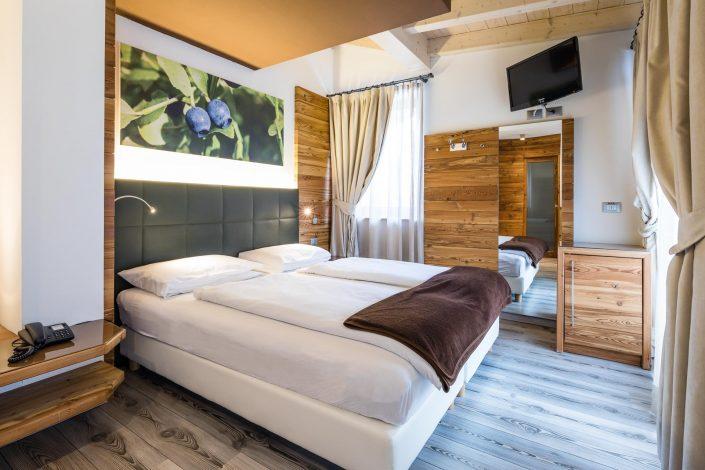 Zimmer des Chalet Vites Mountain Hotel, Hotelfotografie, Interieurfotografie, Hotelzimmer, MANFRED SODIA photography